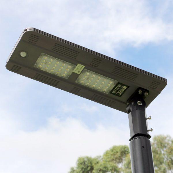 Guardian solar security light