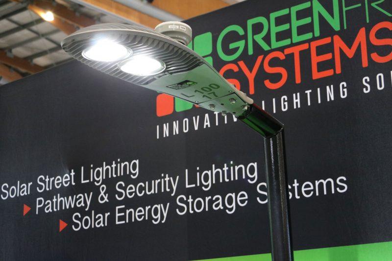 sentinel 100W street light CIMCON intelligent controller