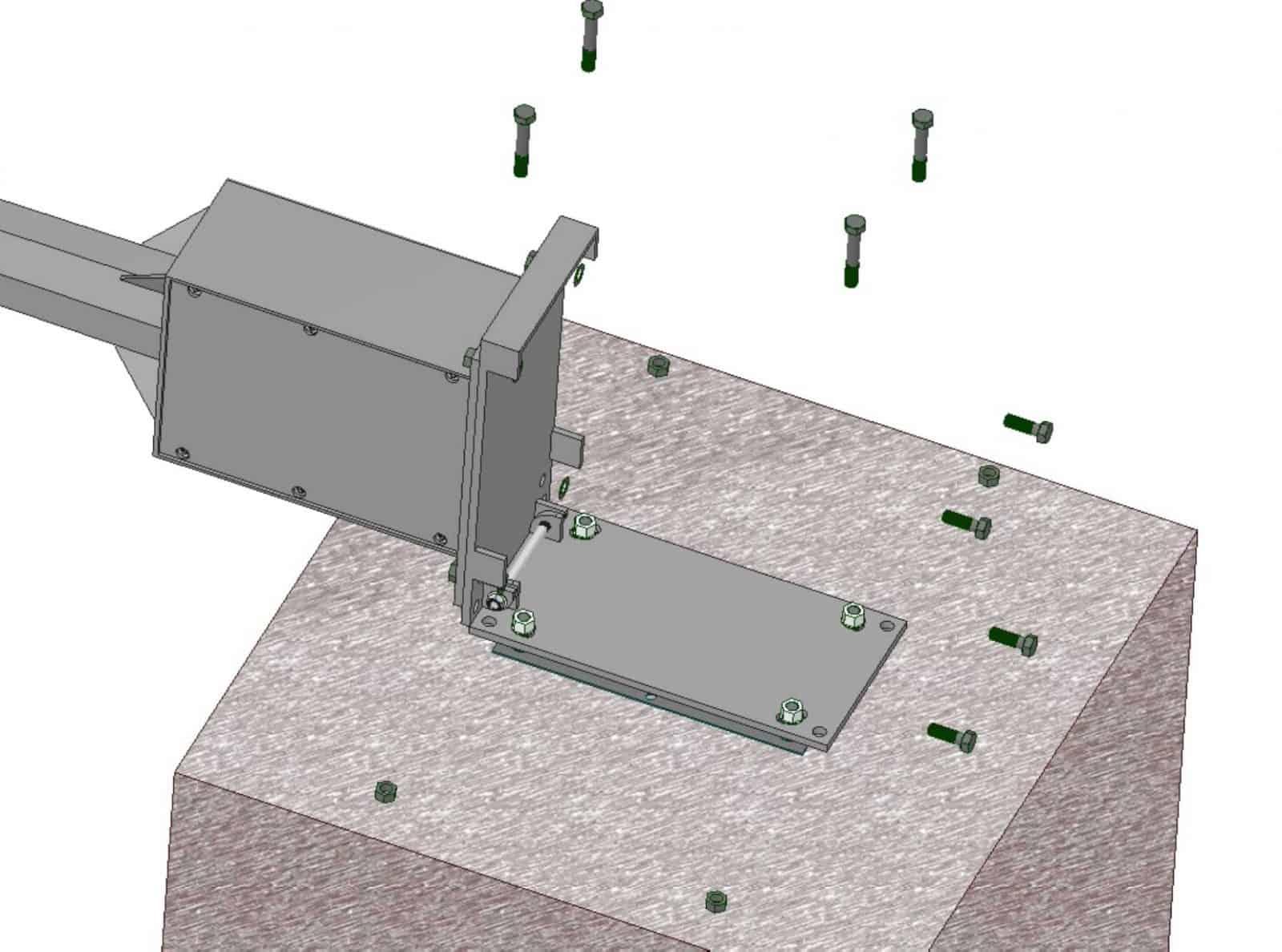 tiltable ase plat eadapter