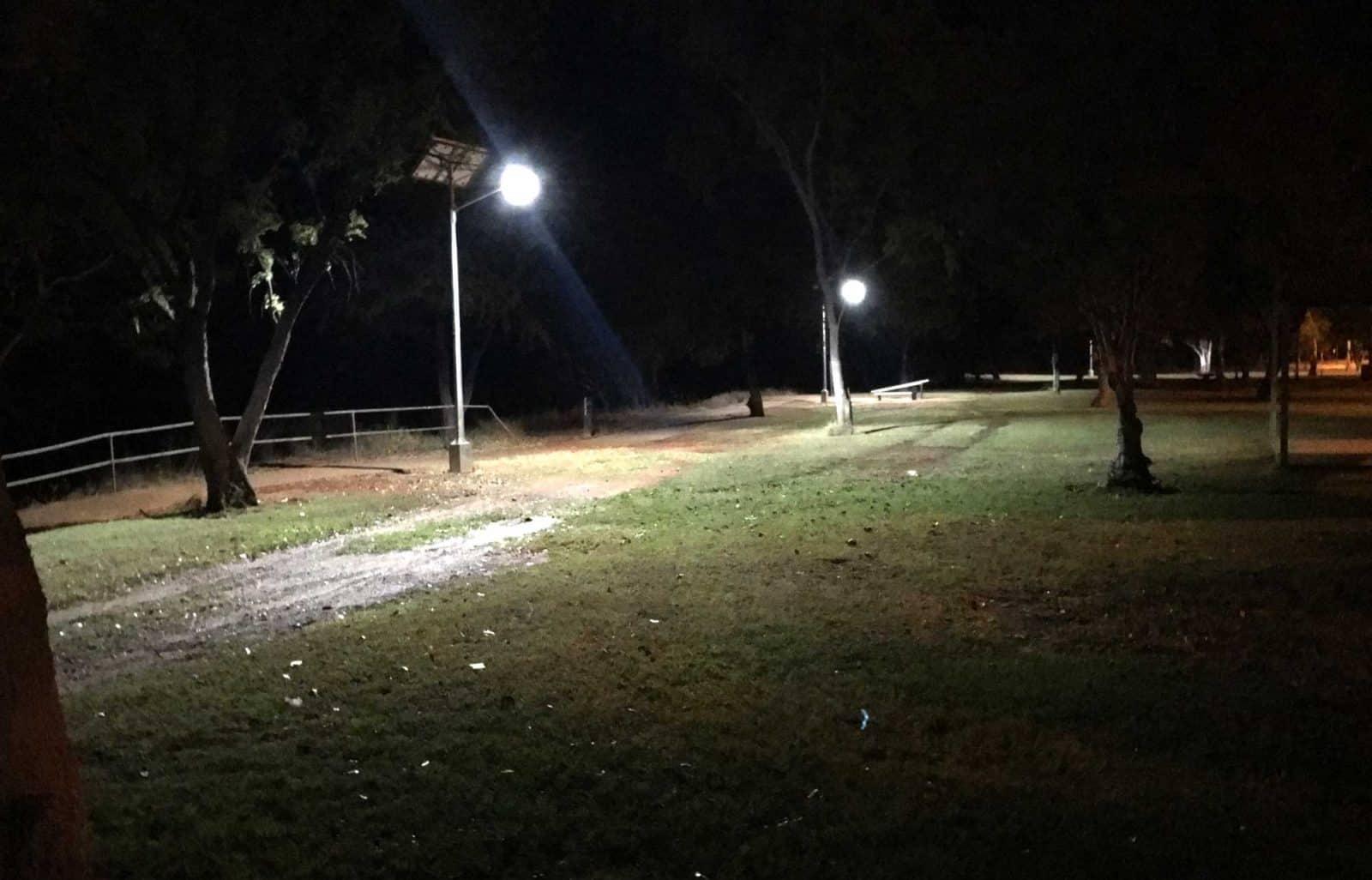cyclone rated solar street lighting