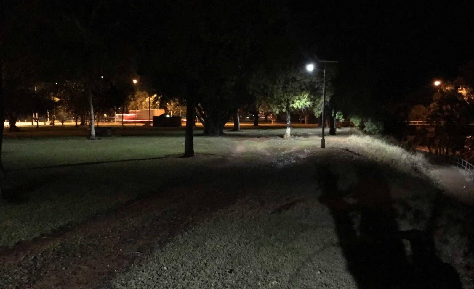 solar street light Katherine Parklands