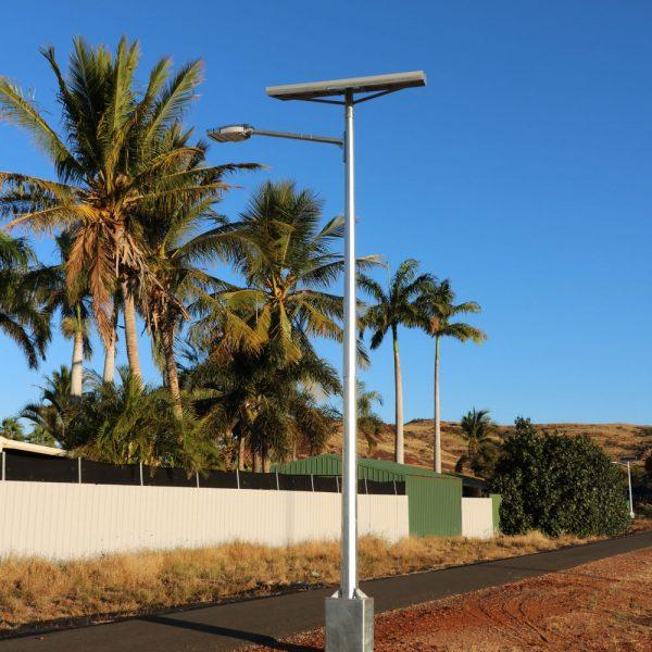 cyclone rated solar street lighting GFS-200-RD