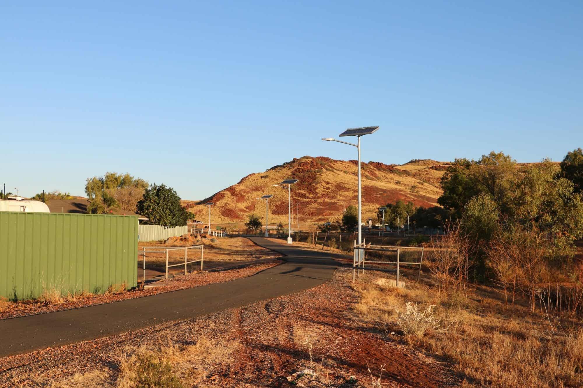 solar street lighting kits region D