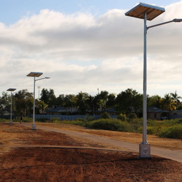 solar powered street lights - cyclone rated to region D GFS-200-RD