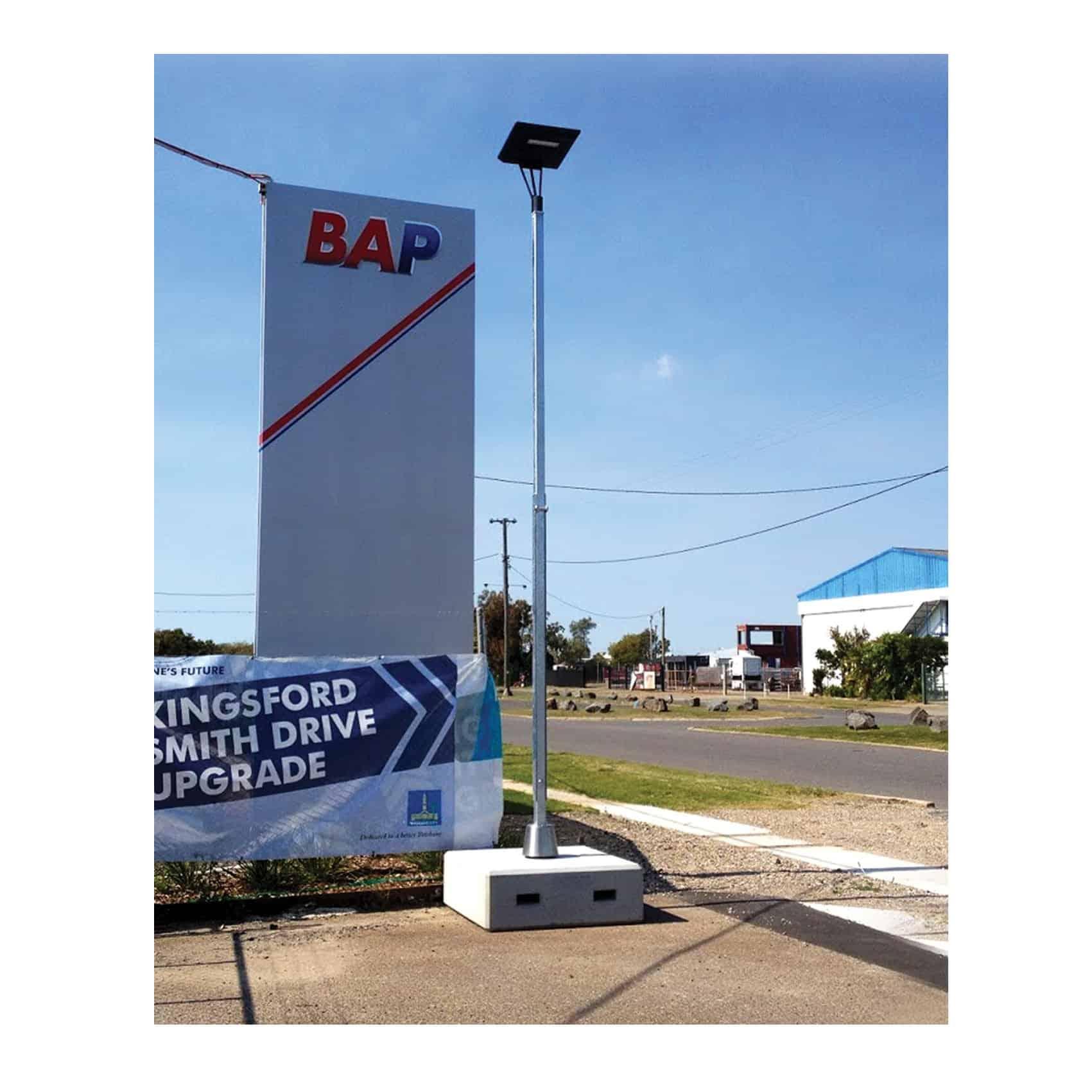 Light Tower Partners: GFS STEALTH PLT Solar Portable Lighting » Green Frog Systems