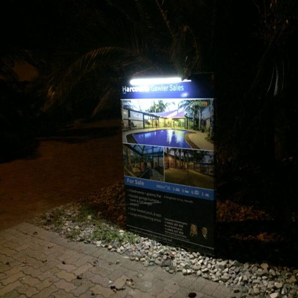 solar sign lights