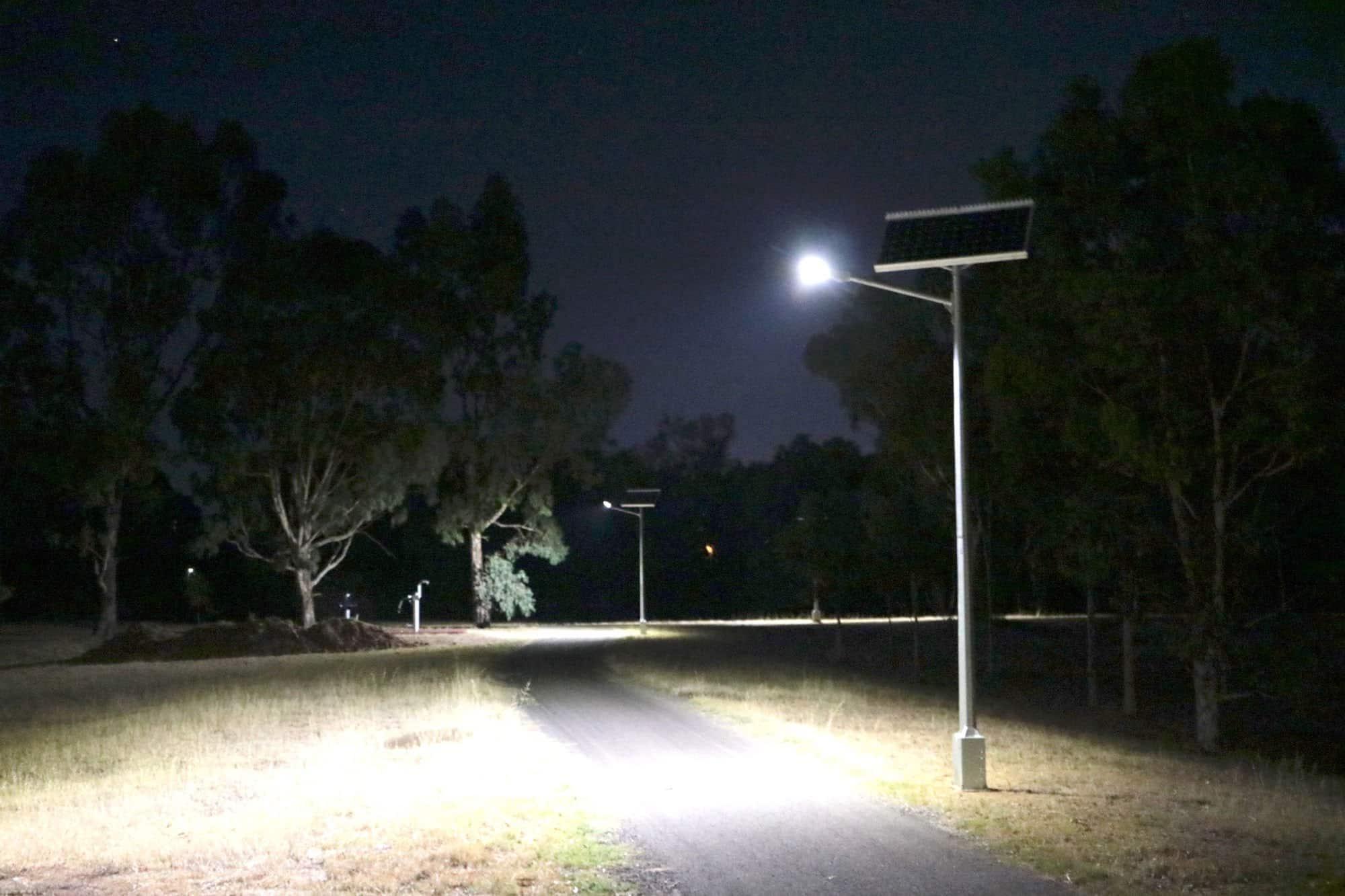 Solar street lighting - Hewett SA