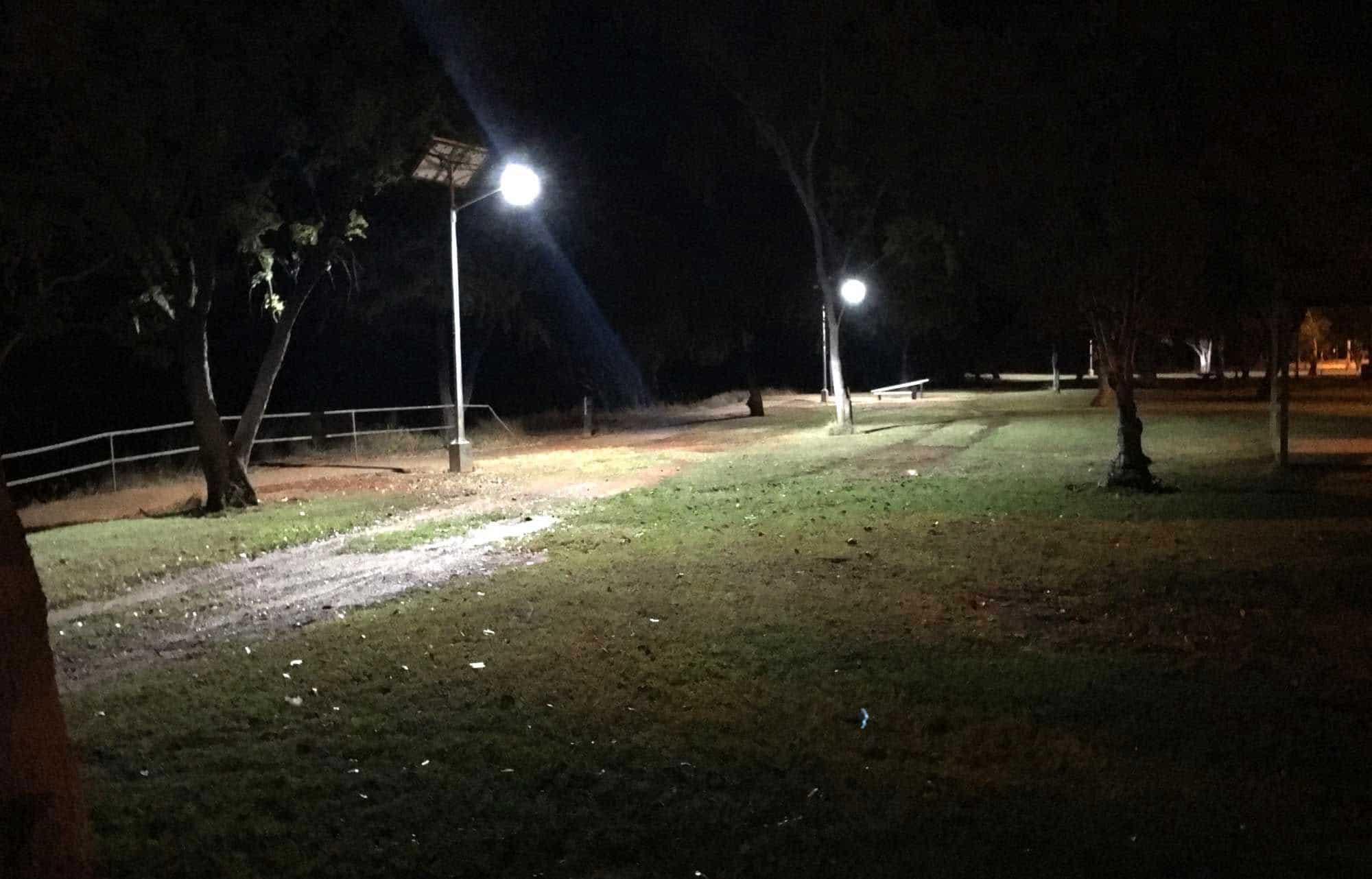 solar street lights for illuminating streets Katherine NT