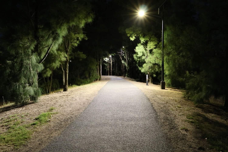 Lake Albert solar street lighting Wagga Wagga NSW